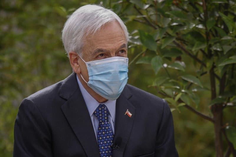"""Piñera por vacunación contra el coronavirus: """"Avanza de acuerdo a metas y compromisos asumidos"""""""