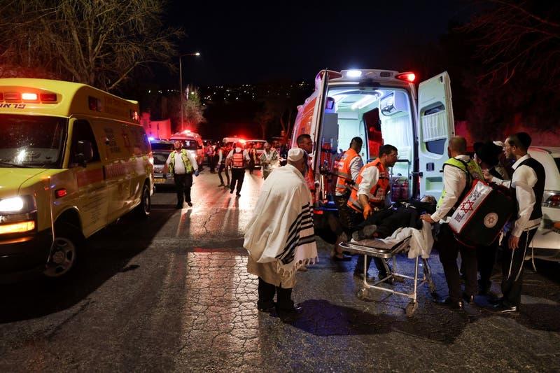 A lo menos 60 personas resultaron heridas tras colapso de sinagoga cerca de Jerusalén