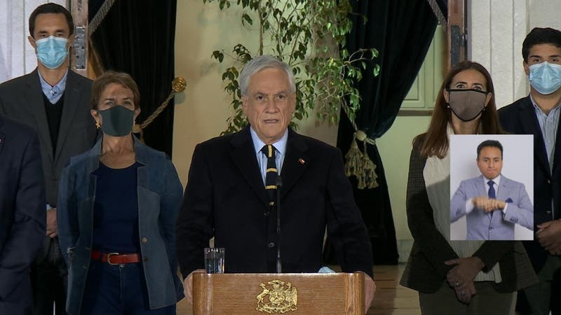 """Piñera y resultados de elecciones: """"No estamos sintonizando con las demandas de la ciudadanía"""""""