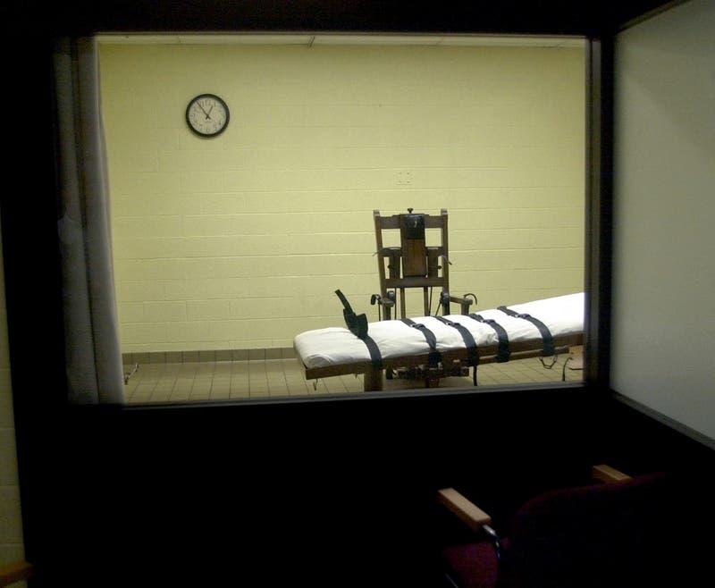 Condenados a muerte podrán elegir entre silla eléctrica o fusilamiento en Carolina del Sur