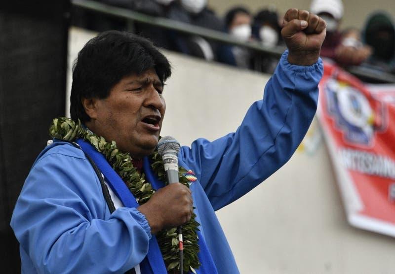 """Evo Morales celebra el triunfo del """"pueblo chileno"""" en la constituyente"""