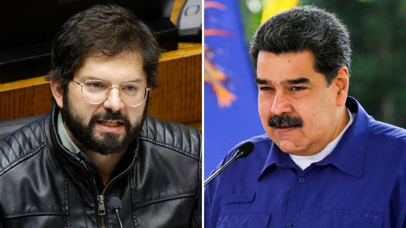 """Boric emplaza a Maduro por respeto a los DD.HH: """"Tanto Piñera como usted no han estado a la altura"""""""