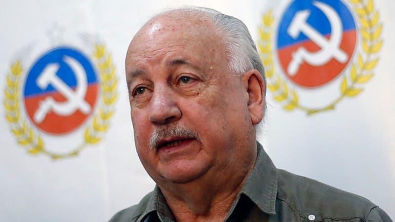 """Guillermo Teillier: """"El resultado de esta elección consolida la opción presidencial de Jadue"""""""