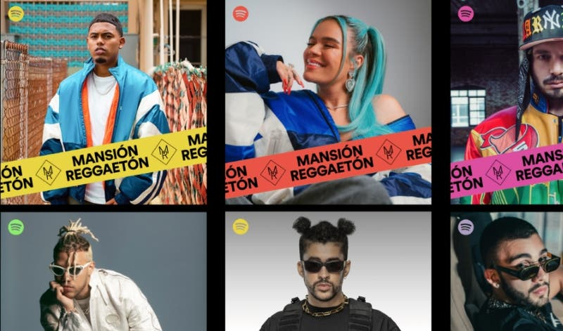 Mansión Reggaetón: La playlist que más escuchan los chilenos