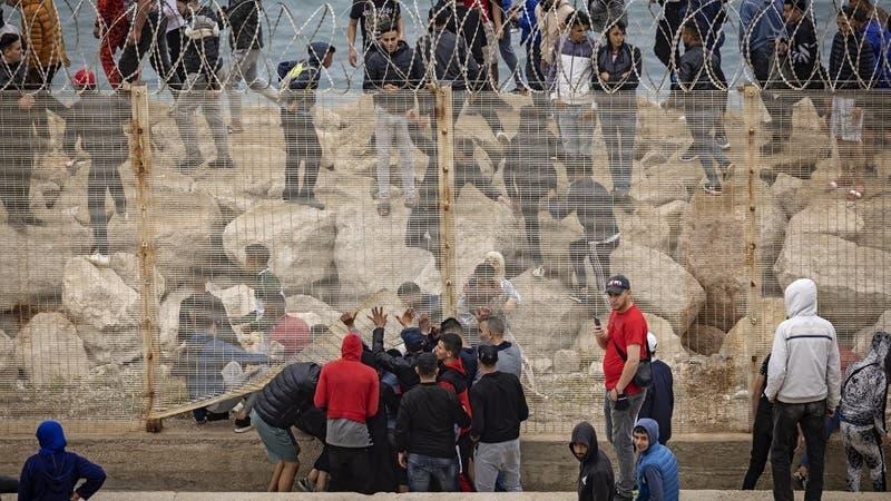 España devolvió 2.700 migrantes a Marruecos que ingresaron a Ceuta