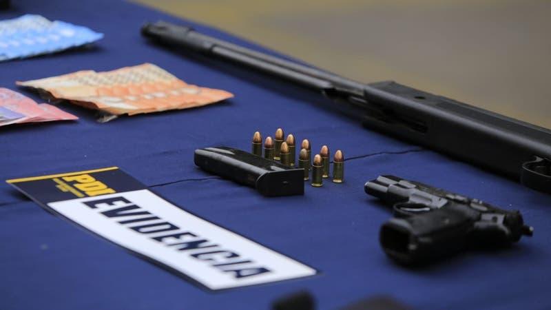PDI confirma incautación de arma vinculada a muerte de Tamara Moya y asalto en Mall Alto Las Condes