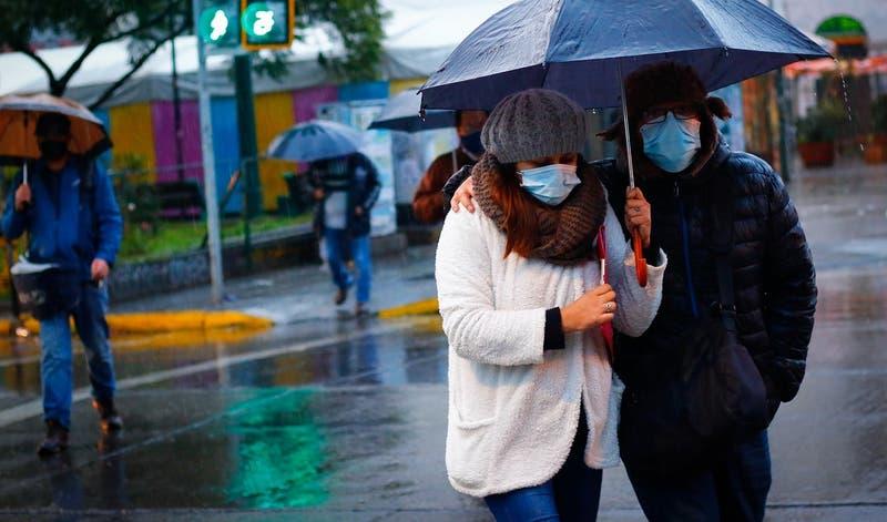 Precipitaciones en la región Metropolitana: ¿En qué comunas lloverá este miércoles?