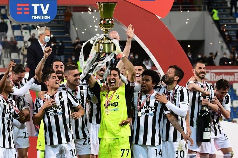 Juventus se corona campeón de la Copa Italia tras vencer al Atalanta