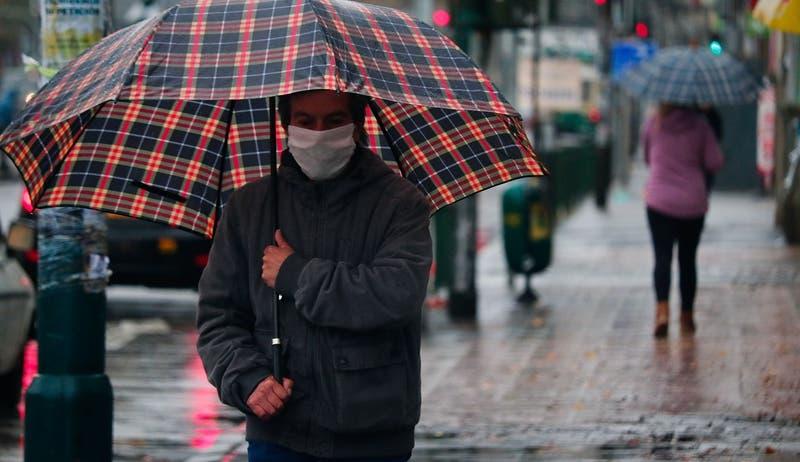 Precipitaciones en Santiago: ¿A qué hora comienza a llover en la región Metropolitana este jueves?