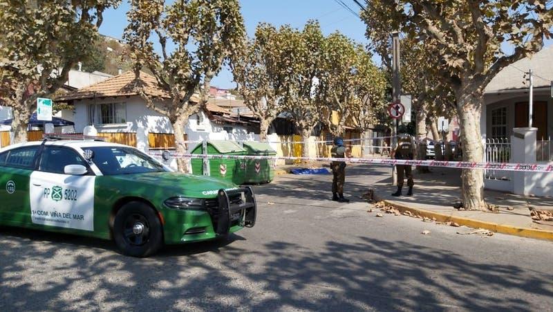 Encerrona a furgón de reparto de Hites: Se llevaron el vehículo con el conductor y las especies
