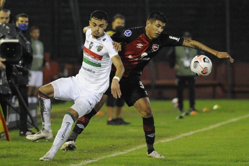Palestino ya eliminado cae ante Newell's en Rosario por Copa Sudamericana