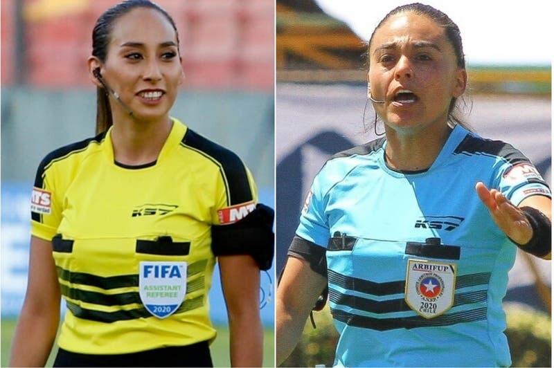 """Chilenas que arbitrarán en Libertadores masculina: """"Es un reconocimiento para todas las mujeres"""""""