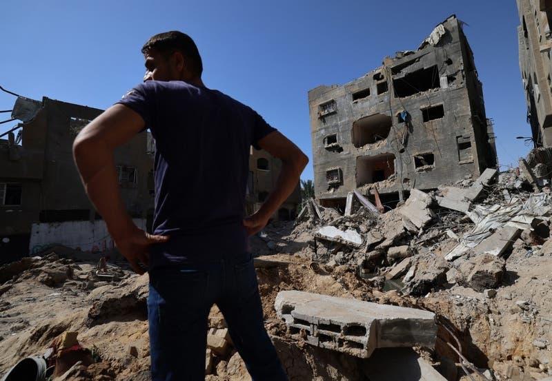 [VIDEO] Así vivió Gaza su primer día sin bombardeos