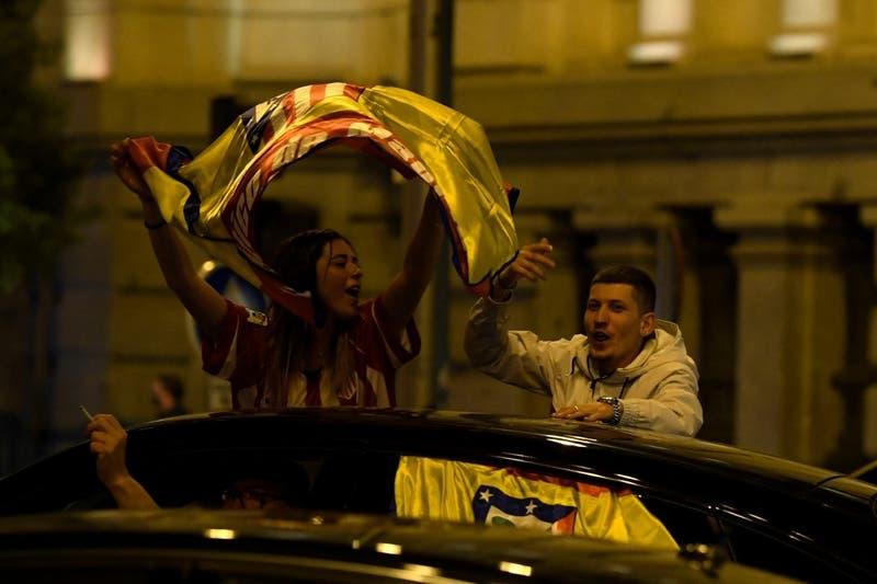 Muere por accidente adolescente de 14 años cuando celebraba victoria del Atlético