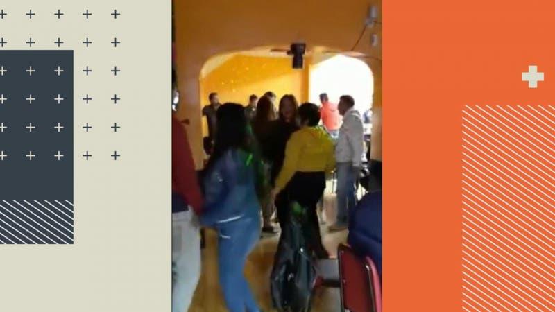 [VIDEO] Transmitieron en vivo: 38 detenidos por fiesta clandestina en local de Santiago