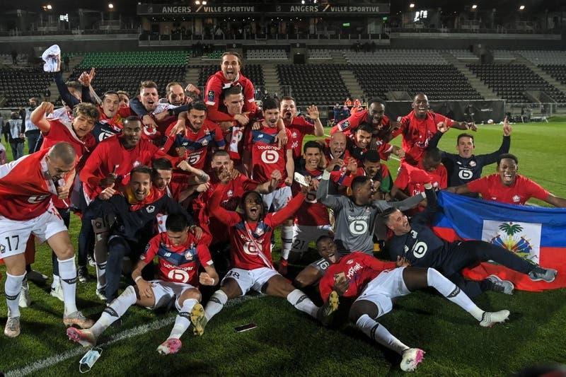 Fracaso del PSG: El Lille logró la hazaña y se coronó campeón de la Liga de Francia