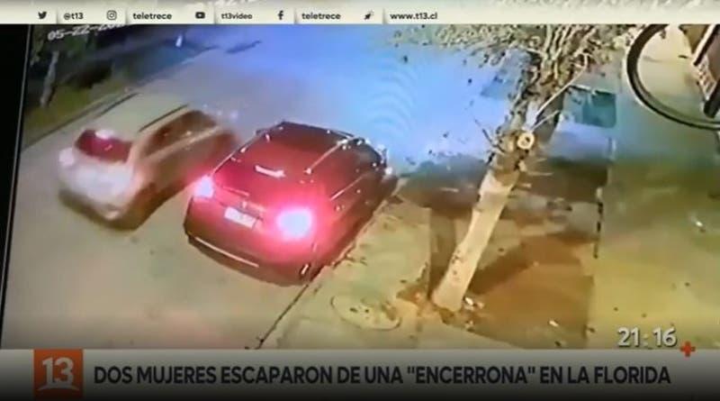 """Conductora frustró """"encerrona"""" huyendo del lugar"""