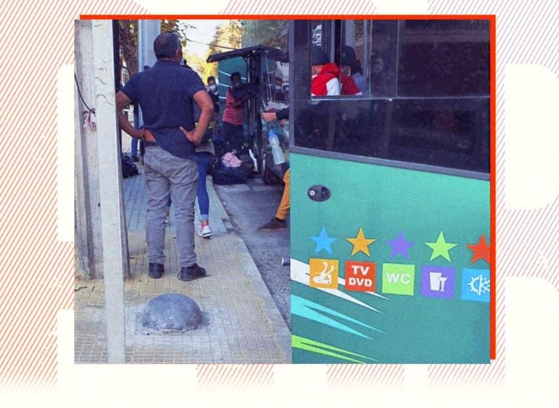 [VIDEO] ReportajesT13: Buses hacían viajes semanales con migrantes ilegales