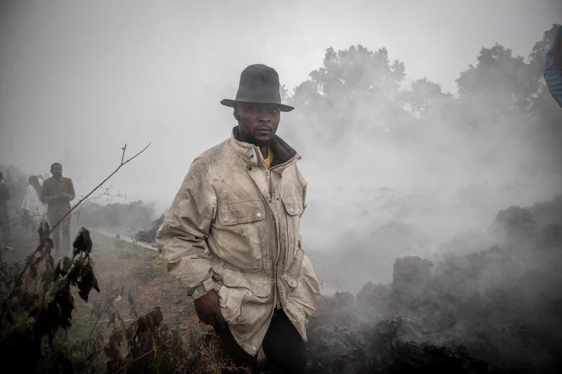 Las desoladoras imágenes tras la erupción del volcán en la República Democrática del Congo