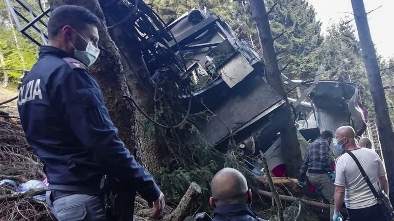 Niño de 5 años sobrevivió a la caída de teleférico en Italia: Su padre lo abrazó antes de morir