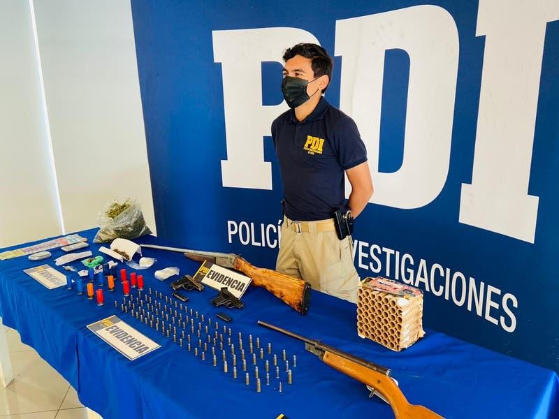 """PDI desarticuló clan familiar de """"Los Tatanes"""" que operaba en Puente Alto"""