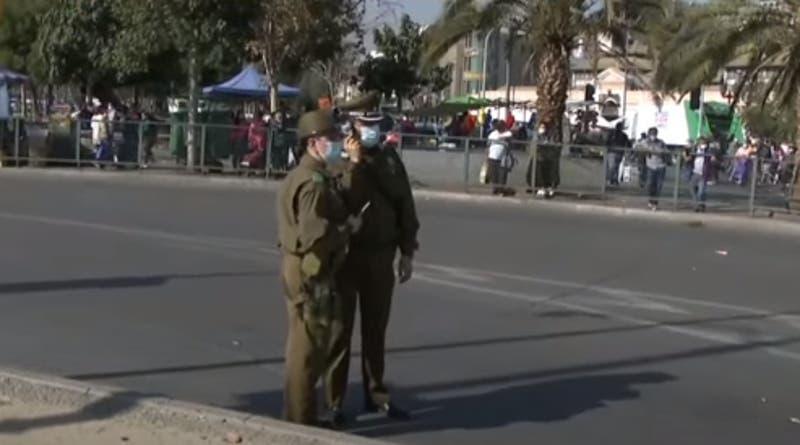 Hombre es herido por carabineros en intento de asalto en Santiago