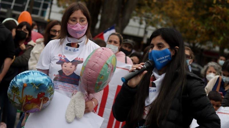 Familia de Tomás Bravo encabeza protesta y exige avances en la investigación