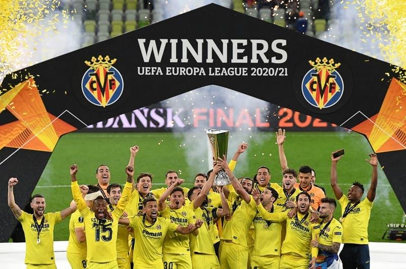 Villarreal campeón de la Europa League por primera vez tras maratónica definición a penales