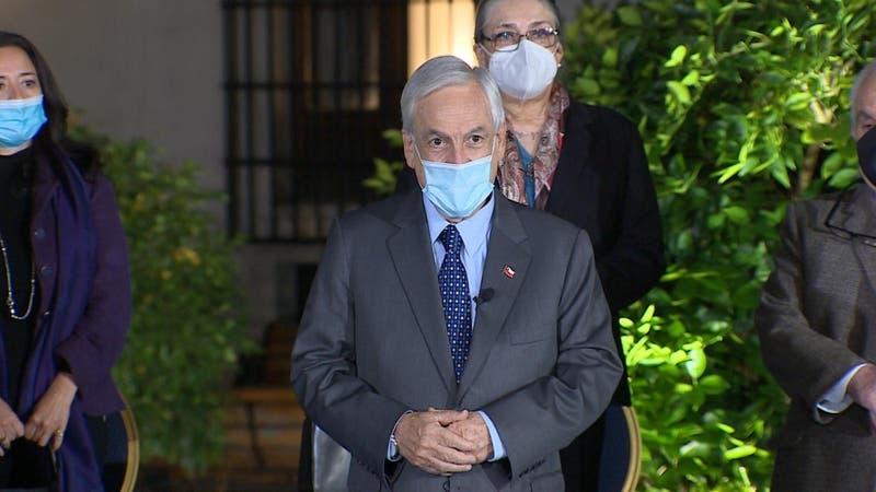 Piñera anuncia IFE para todos quienes estén en el RSH: Serán $467 mil a familias de 4 personas