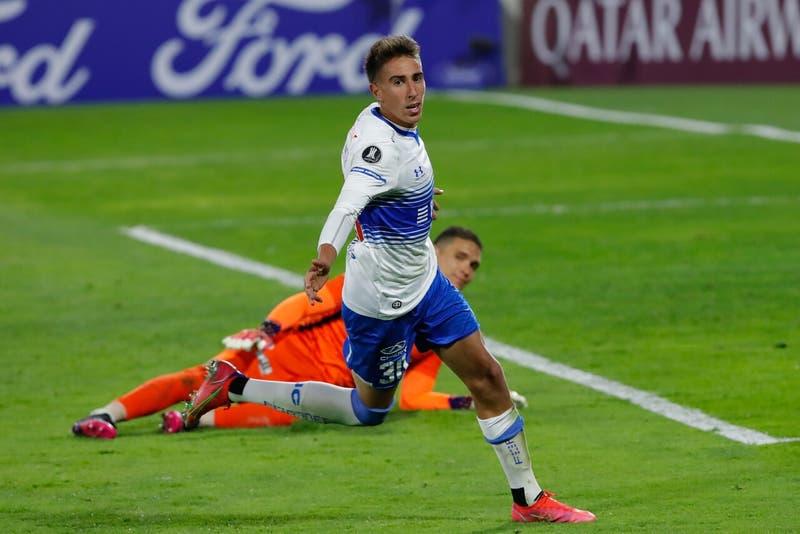 Revive los goles que le dieron a la UC la clasificación a los octavos de final de la Libertadores