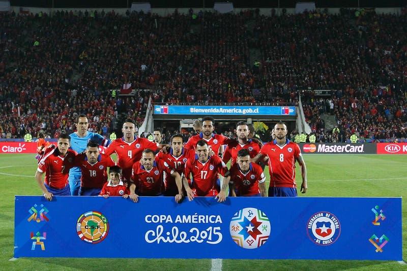 La Roja llega a la Copa América con el mismo ranking FIFA que en 2015 cuando se coronó campeón