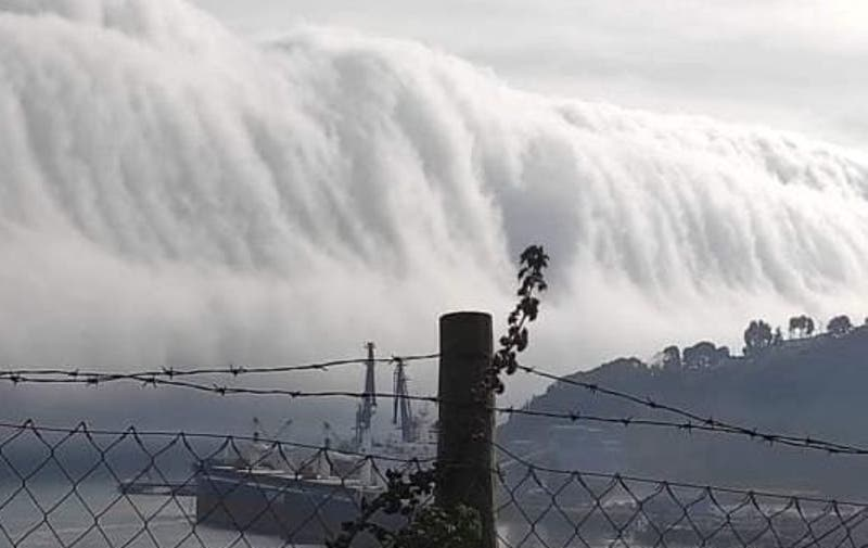 Nubes gigantes: Las cinematográficas imágenes que dejó el sistema frontal en San Antonio