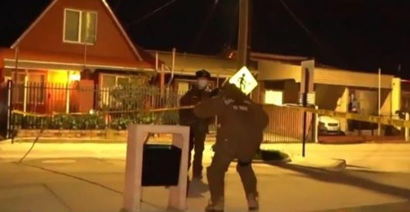 Militar detenido por disparar a un conductor que evadió un control en Punta Arenas