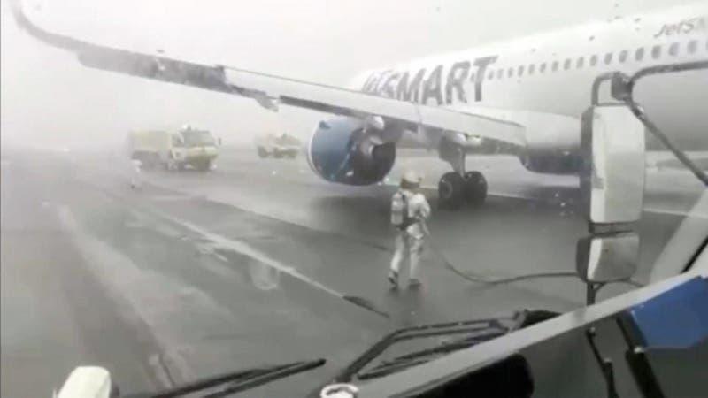 Aterrizaje de emergencia en Concepción terminó con aplausos al piloto