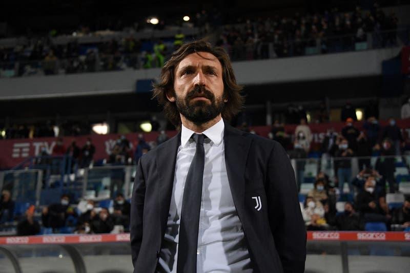 Juventus anuncia la salida de su técnico Andrea Pirlo