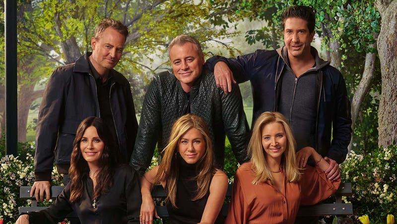"""La desconocida historia de amor de dos progagonitas de """"Friends"""": estaban enamorados en la vida real"""
