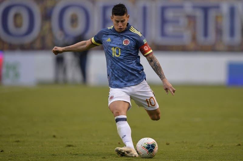 James Rodríguez en picada contra Reinaldo Rueda tras ser excluido de la Selección de Colombia