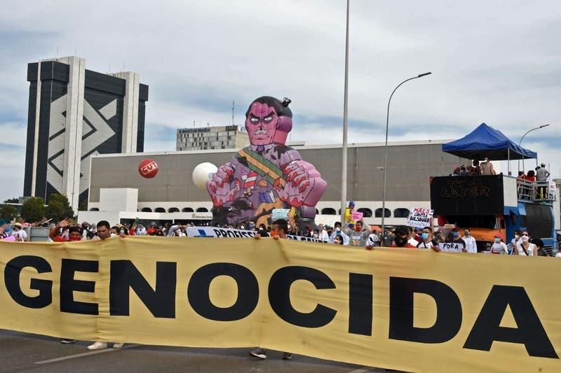 Nueva jornada de protestas callejeras en Brasil contra la gestión de la pandemia de Bolsonaro