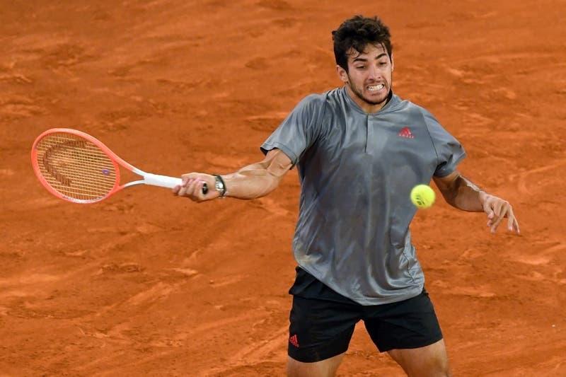 Garin celebró su cumpleaños con un trabajado triunfo en su debut en Roland Garros