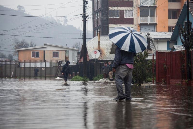 Intensas lluvias en el sur: ¿Por qué es preocupante la cantidad de agua y la isoterma cero?