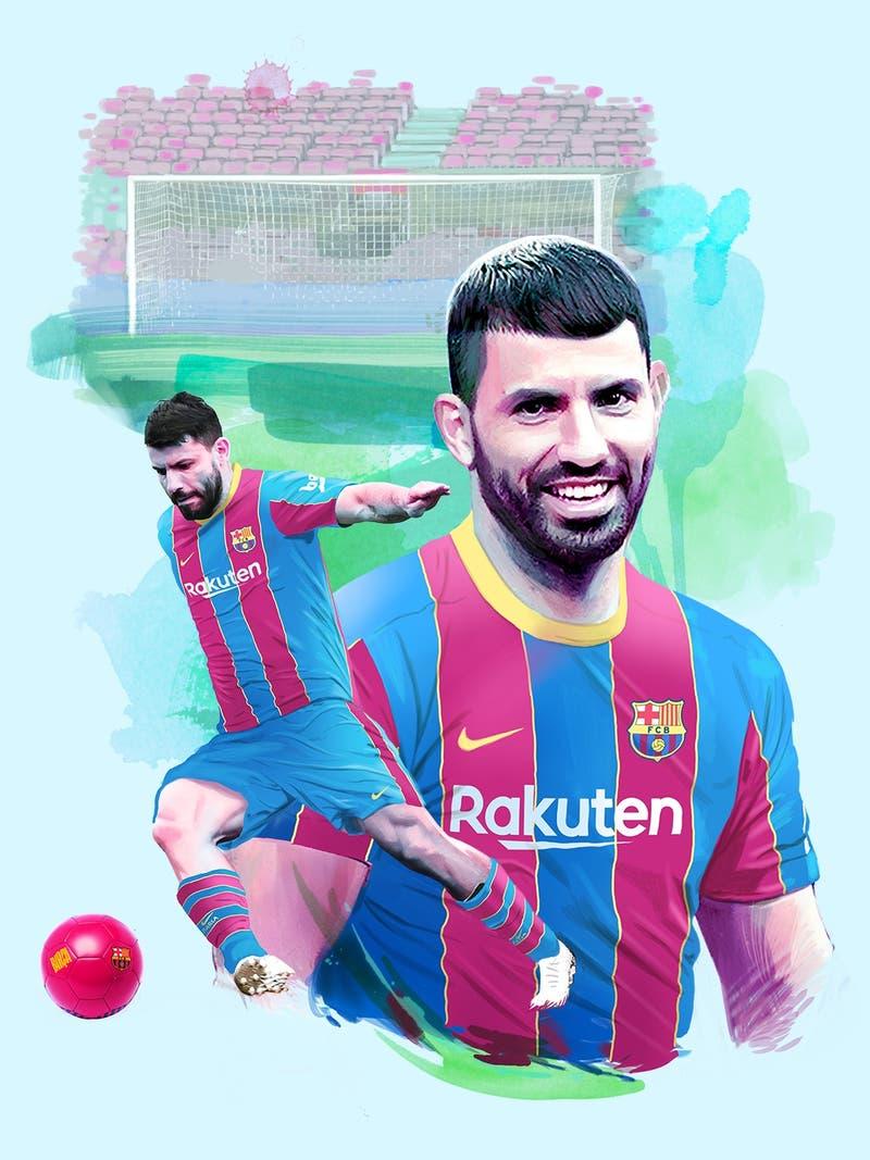 """¿Para jugar con Messi?: Sergio """"Kun"""" Agüero es el primer fichaje del FC Barcelona"""