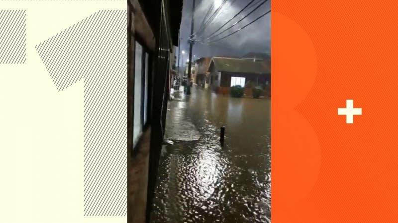 Intensas lluvias en el sur: Onemi declara alerta amarilla para Lota por sistema frontal