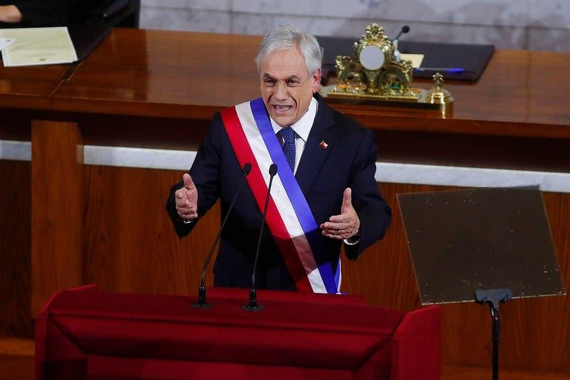 ¿A qué hora se realizará la última cuenta pública del Presidente Sebastián Piñera?