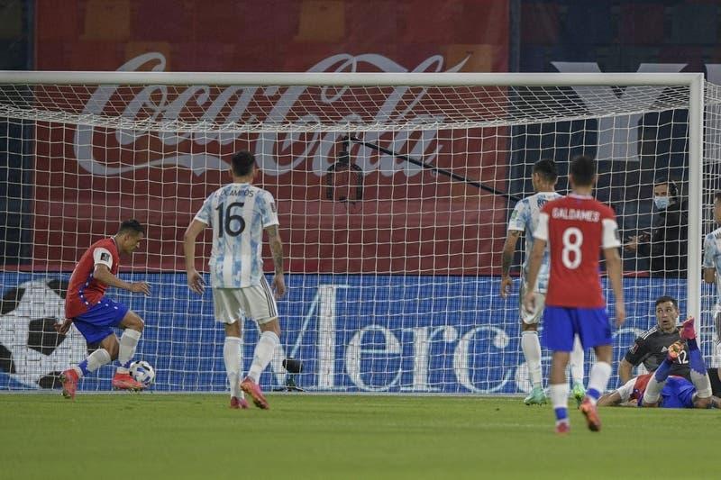 Revive el gol de Alexis Sánchez que le dio a Chile el empate ante Argentina por las Clasificatorias