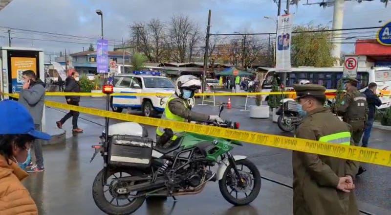 Hombre es asesinado mientras estaba en una fila para ingresar a un cajero automático en Temuco