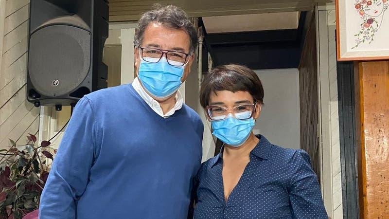 Partido Humanista y Pablo Maltés oficializan apoyo a Karina Oliva ante la segunda vuelta