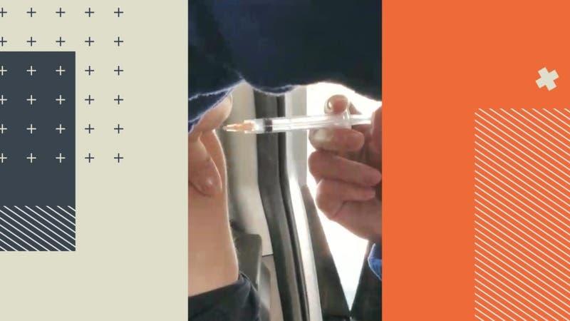 """Joven de la """"falsa vacunación"""" en Huechuraba fue vacunada este viernes"""