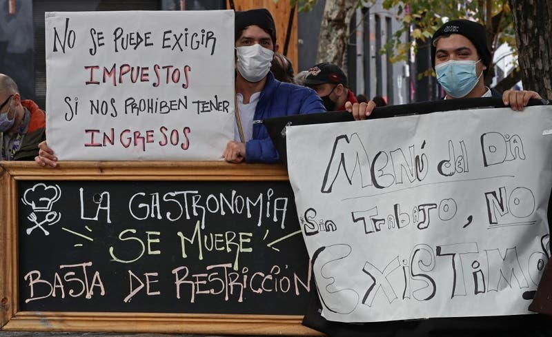 Bares y restaurantes piden ayuda para enfrentar el peor momento de la pandemia en Buenos Aires