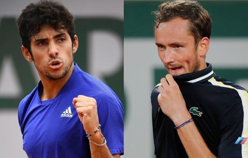 Garín vs. Medvedev: ¿Cuándo juega el chileno ante el número 2 del mundo en Roland Garros?