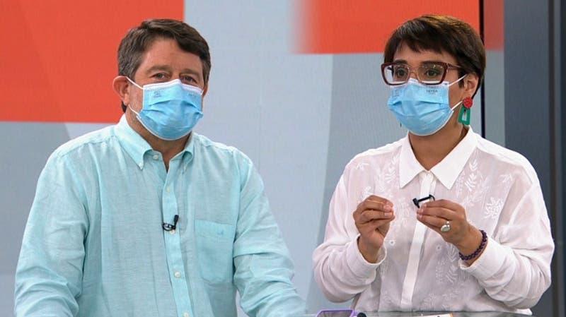 [VIDEO] Oliva y Orrego debatieron sus ideas para la Gobernación RM a una semana de la elección